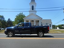 Jamesport Meeting House blocked by Chevy Silverado.jpg