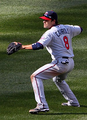 Jamey Carroll - Carroll with the Minnesota Twins