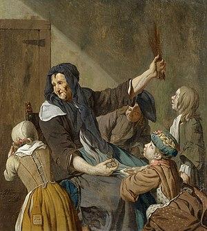 Jan Josef Horemans the Elder - The lesson