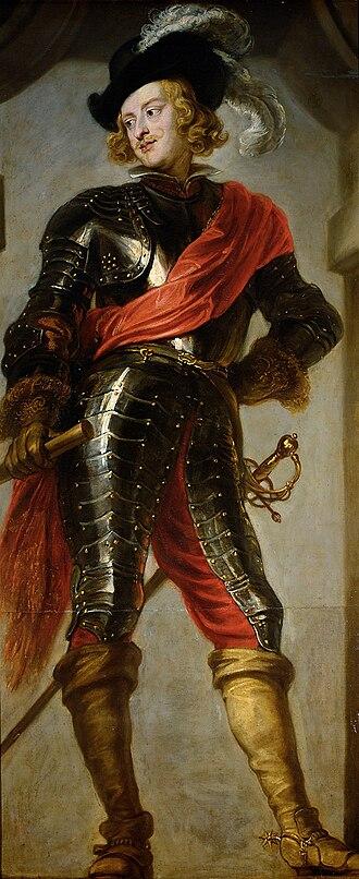 Siege of Venlo (1637) - The Cardinal-Infante Ferdinand, by Jan van den Hoecke.