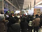 January 2017 DTW emergency protest against Muslim ban - 02.jpg