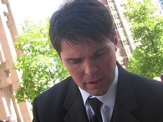 Jaromír Jágr - Jágr at the 2006 NHL Awards Show