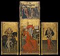 Jaume Ferrer - Altarpiece of Saint Jerome, Saint Martin and Saint Sebastian - Google Art Project.jpg