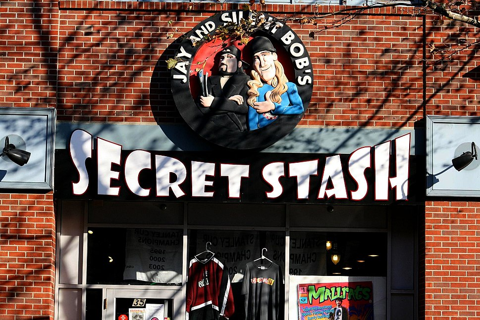 Jay and Silent Bob's Secret Stash . Red Bank . New Jersey
