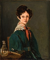 Mme Lemaistre, née Blanche Sennegon, Niece of Corot (Mme Lemaistre, née Blanche Sennegon, nièce de Corot)