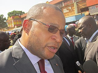 Central African politician