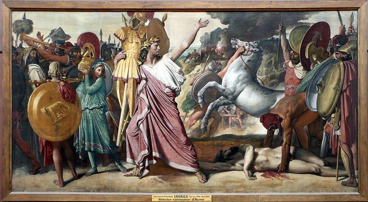 File Jean Auguste Dominique Ingres Romolo Vincitore Di