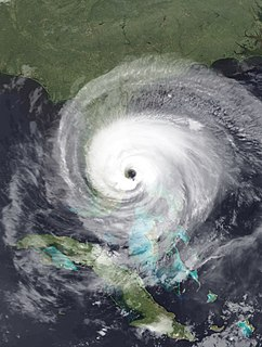 Hurricane Jeanne Category 3 Atlantic hurricane in 2004