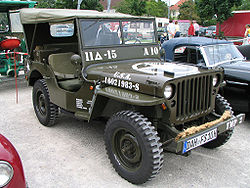 Restaurierter Willys-Jeep MB (G503), Baujahr 1945