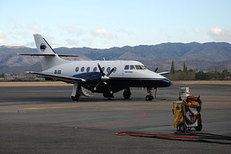 Woodbourne Airport - Air National Jetstream 32 on the tarmac at Blenheim