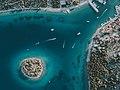 Jezera port from the air.jpg