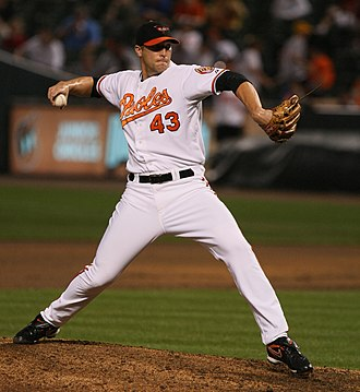 Jim Johnson (baseball, born 1983) - Johnson pitching for the Baltimore Orioles in 2009