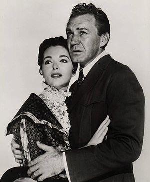 Joan Weldon - Joan Weldon and Forrest Tucker in The Music Man (1960)