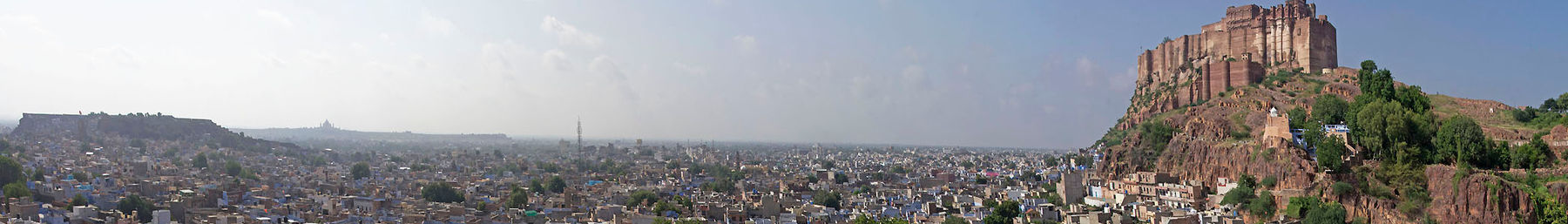 Jodhpur banner Skyline with fort.jpg