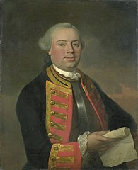 Portrait of Johan Arnold Zoutman (1724-93). Vice-admiraal