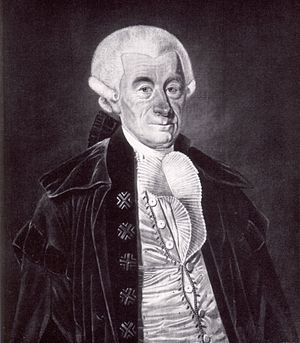 Johann Stephan Pütter - Portrait of Johann Stephan Pütter by Carl Lafontaine