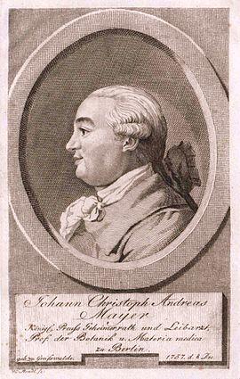 Johann Christoph Andreas Mayer