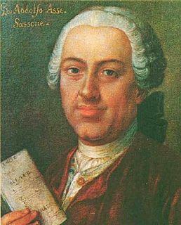 Johann Adolph Hasse German composer, singer and teacher
