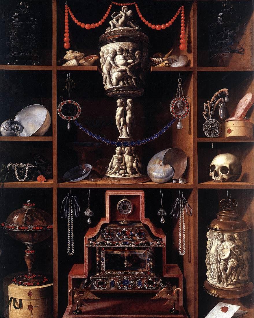 Johann Georg Hainz - Cabinet of Curiosities - WGA11425