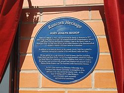 John bishop plaque