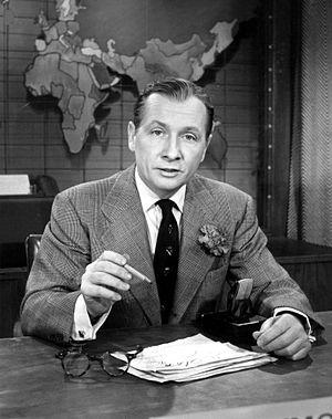 Camel News Caravan - John Cameron Swayze reporting in 1955.