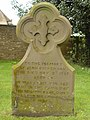 John Dickenson gravestone at St Mary's Tetbury. - geograph.org.uk - 1521511.jpg