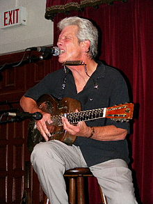 Hammond performing at the Cactus Cafe, Austin, Texas, 2008