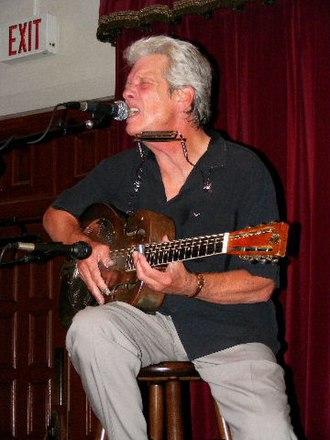 John P. Hammond - Hammond performing at the Cactus Cafe, Austin, Texas, 2008