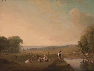A View of Theobald's Park, Hertfordshire