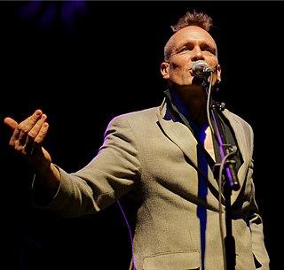 John Robb (musician) English music journalist, label owner, singer; Goldblade vocalist