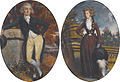 John Savile, 2nd earl of Mexborough and Lifford, and his wife Elizabeth, by Daniel Gardner.jpg