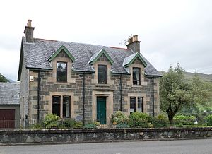 John Smith (Labour Party leader) - John Smith's birthplace in Dalmally, Glenorchy.