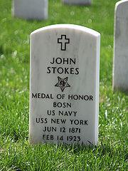 John Stokes grave - Arlington National Cemetery - 2011.JPG