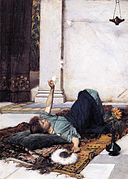 John William Waterhouse - Dolce Far Niente (1879).jpg