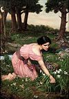 John William Waterhouse - Spring Spreads One Green Lap of Flowers.JPG