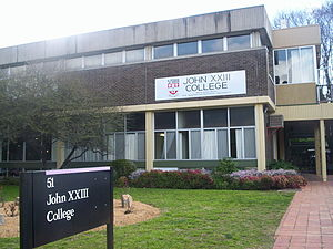 Residential colleges of the Australian National University - John XXIII College