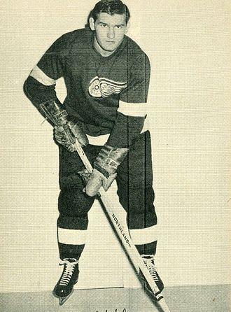 Johnny Wilson (ice hockey) - Wilson with the Detroit Red Wings