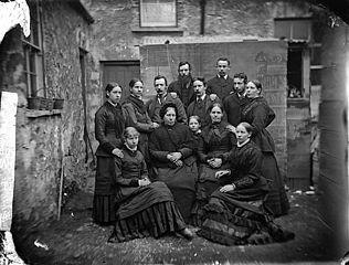 Jones family group