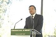 José Manuel Barroso MEDEF FULL