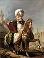 Joseph-Marie Vien Equestrian portrait of Barthélemy-Michel Hazon in the costume of a Turkish Mufti.jpg