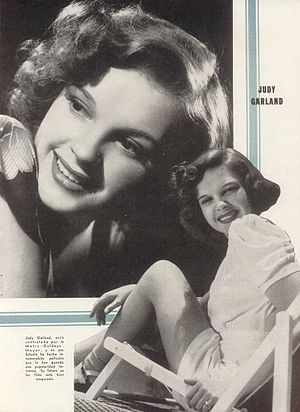 Publicity photo of Judy Garland for Argentinea...