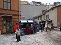 Julmarknad på Gamla Stortorget 2014 scouter.JPG