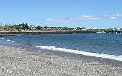 Beach along Grand Manan's North Head