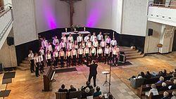 Junger kammerchor düsseldorf in der Christuskirche Düsseldorf