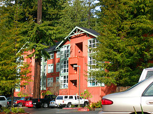 English: This is Juniper Hall at Humboldt Stat...
