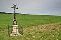 Kříž východně od obce, Těmice, okres Pelhřimov.jpg