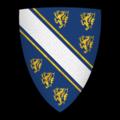 """K-014-Coat of Arms-BOHUN-Humphrey de Bohun, Earl of Hereford (""""Quens de Herefort"""").png"""