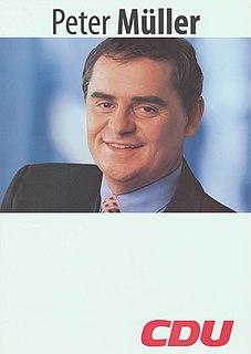 Peter Müller (politician) German politician