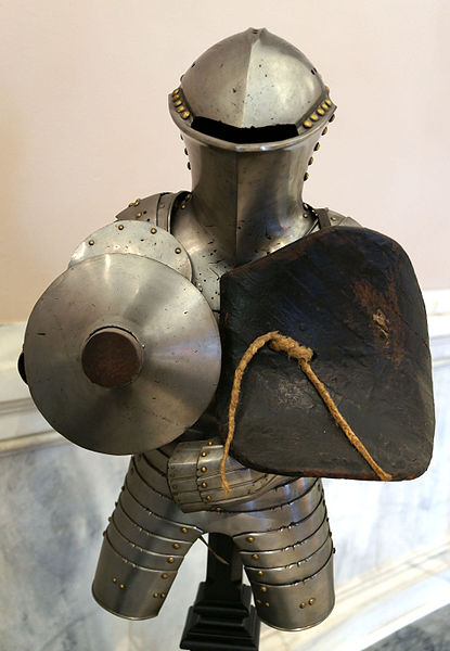 Image of armored knight, from Wikipedia
