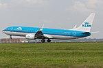 KLM Boeing 737-800 PH-BCA (25752944986).jpg